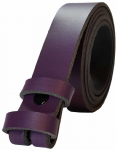 20mm Purple Snap Fit Leather Belt